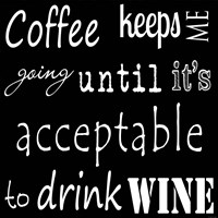 CoffeeTill Wine Fine-Art Print