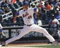 Zack Wheeler Pitching Baseball Fine-Art Print