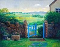 The Blue Gate Fine-Art Print