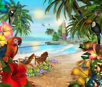 Island Of Palms Fine-Art Print