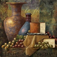 Cheese & Grapes Fine-Art Print