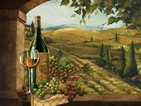 Vineyard Window II Fine-Art Print