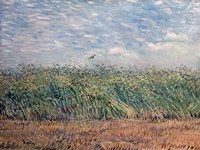 Wheatfield with Lark, 1887 Fine-Art Print