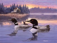 Loon Lake Fine-Art Print