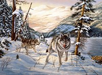 Winter Hunt Fine-Art Print
