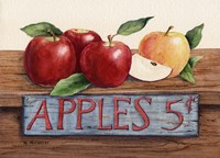 Apples 5 Cents Fine-Art Print
