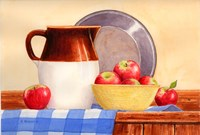Apples In Yellow Bowl Fine-Art Print