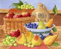Apples, Grapes & Pears Fine-Art Print
