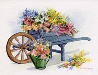 Flower Cart Fine-Art Print