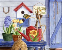 Red Watering Can Fine-Art Print