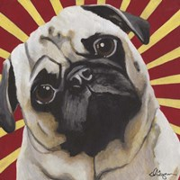 Dlynn's Dogs - Puggins Fine-Art Print