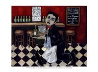 French Waiter I Fine-Art Print