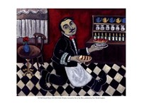 French Waiter II Fine-Art Print