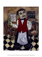 French Waiter III Fine-Art Print