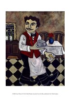 French Waiter IV Fine-Art Print