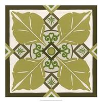 Non-Embellished Palm Motif III Fine-Art Print