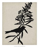 Audubon Silhouette I Fine-Art Print