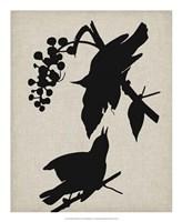 Audubon Silhouette III Fine-Art Print