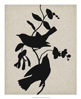 Audubon Silhouette IV Fine-Art Print