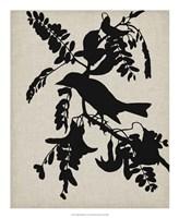 Audubon Silhouette V Fine-Art Print