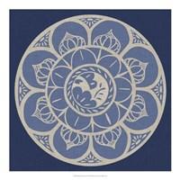 Indigo Earthenware I Fine-Art Print