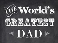 The World's Greatest Dad Fine-Art Print