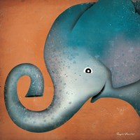 Elephant WOW Fine-Art Print