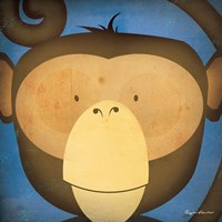 Monkey WOW Fine-Art Print