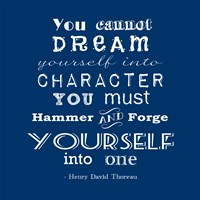 Character quote Fine-Art Print