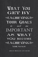 Achieving Your Goals Fine-Art Print