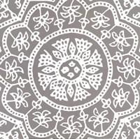 Woodblock Pattern I Fine-Art Print
