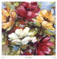 Lily's Garden I Fine-Art Print