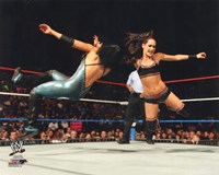 Brie Bella 2014 Action Fine-Art Print