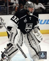 Jonathan Quick Game 2 of the 2014 Stanley Cup Finals Action Fine-Art Print