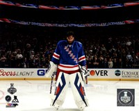 Henrik Lundqvist Game 4 of 2014 Stanley Cup Final Fine-Art Print