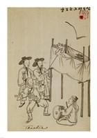 Korean Puppet Show Fine-Art Print