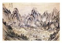 Pyohun Temple at Diamond Mountains Fine-Art Print