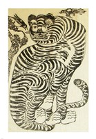 Korean Folk Tiger Fine-Art Print