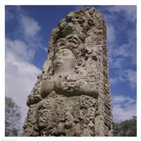 Stelae Copan Mayan Honduras Fine-Art Print