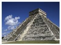 El Castillo Pyramid Fine-Art Print