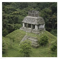 Temple of the Cross Palenque Fine-Art Print