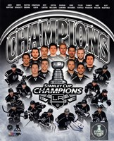 Los Angeles Kings 2014 Stanley Cup Champions Composite Fine-Art Print