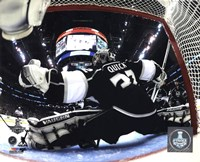 Jonathan Quick Game 5 of the 2014 Stanley Cup Finals Action Fine-Art Print