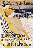 Poster advertising the 'Exposition Internationale d'Affiches', Paris, c.1896 Fine-Art Print