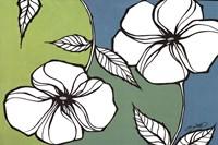 Flowers in Unity - Teal Fine-Art Print