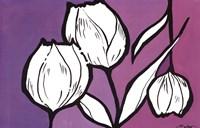 Flowers in Unity - Purple Fine-Art Print