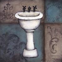 Blue Bath II Fine-Art Print