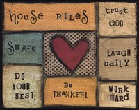House Rules Fine-Art Print