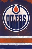 Edmonton Oilers® - Logo 14 Wall Poster