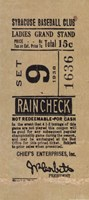 Vintage Baseball Ticket Fine-Art Print